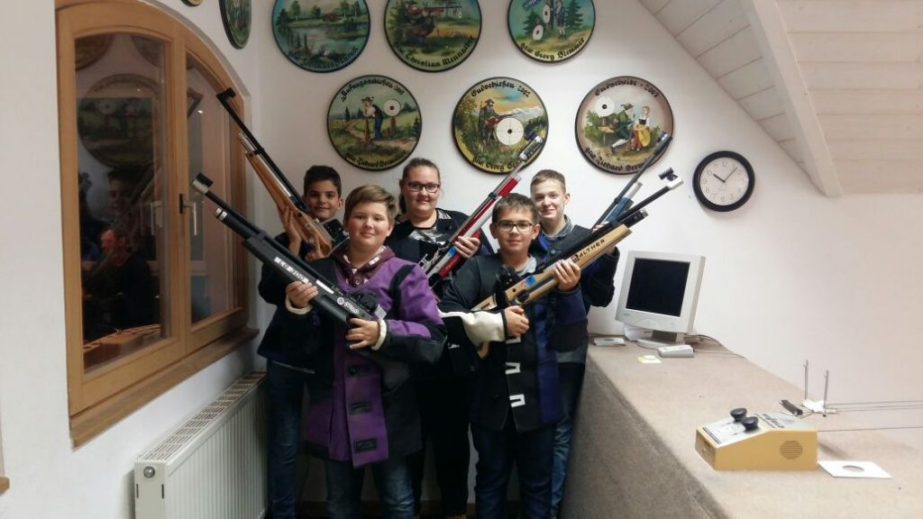 Luftgewehr Jugend 1. Mannschaft
