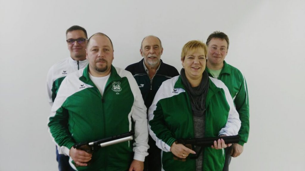 Luftpistole 2. Mannschaft